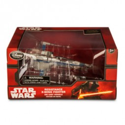 Star Wars - EP.VII T.F.A. - Die Cast Vehicle Replica - Incom T-70 Resistance X-Wing Fighter