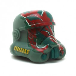 Star Wars - Stormtrooper Legion Helmet Series - 6 Inch Miniature Vinyl Replica - Boba Fett Paint Job Stormtrooper Helmet