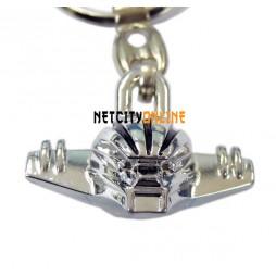 Kotetsu Jeeg - Keyring 3D - Metal - Portachiavi - Testa Jeeg