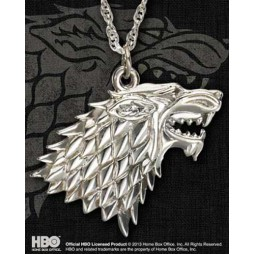 Game Of Thrones - Il Trono di Spade - Collana - Stark Symbol - Pendant - Argento NN0065