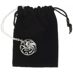 Game Of Thrones - Il Trono di Spade - Collana - Targaryen - Pendant - Argento NN064