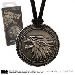Game Of Thrones - Il Trono di Spade - Collana - Stark Shield - Pendant