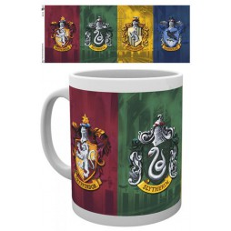 Harry Potter - Tazza - Mug Cup -Crest Series - All Crests 320 Ml