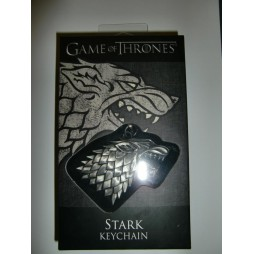 Game Of Thrones - Il Trono di Spade - Keyring 3D - Metal - Portachiavi - Stark Symbol - Keychain