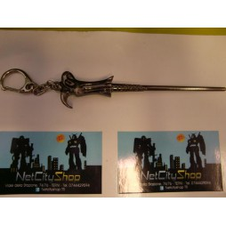 Harry Potter - Keychain - Bacchetta Magica Lord Voldemort - Portachiavi Keychain 3D Metallo