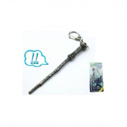 Harry Potter - Keyring 3D - Metal - Portachiavi - Bacchetta Magica