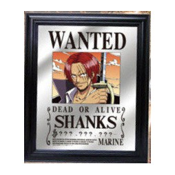 One Piece - Pub Mirror - Stampa Su Specchio - Shanks