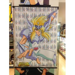 Saint Seiya - Next Dimension Myth of Hades - Cygnus no Hyoga 20th V2 - Poster - Wall Scroll in Stoffa