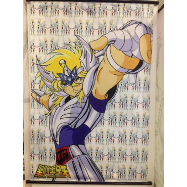 Saint Seiya - Next Dimension Myth of Hades - Cygnus no Hyoga V1 - Poster - Wall Scroll in Stoffa