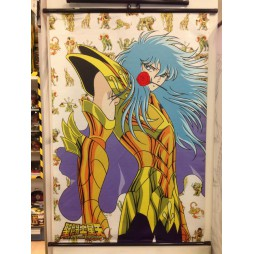 Saint Seiya - Next Dimension Myth of Hades - Gold Cardinale di Pisces - Poster - Wall Scroll in Stoffa