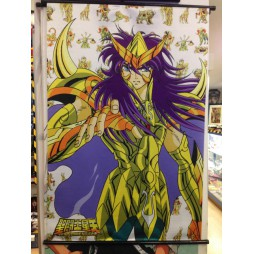Saint Seiya - Next Dimension Myth of Hades - Gold Écarlate di Scorpio - Poster - Wall Scroll in Stoffa