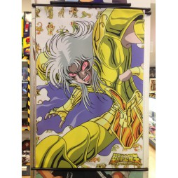 Saint Seiya - Next Dimension Myth of Hades - Gold Jemini no Aberu - Poster - Wall Scroll in Stoffa