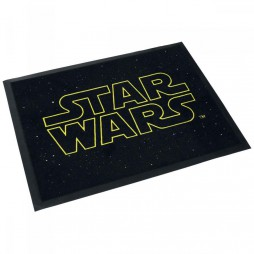 Star Wars - Doormat - Zerbino - Star Wars Yellow/Black Logo - Boeing GmbH