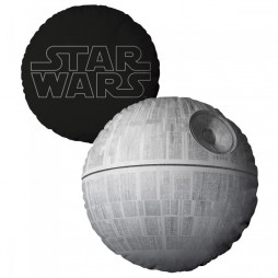 Star Wars - Cuscino - Double Face - Death Star/Logo