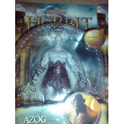 THE HOBBIT The Journey Continues - Azog - Action Figure