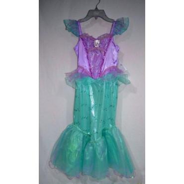 Little Mermaid - La Sirenetta - Disney - Disney Store Deluxe Teen Costume - Taglia Medium 07/08 Anni