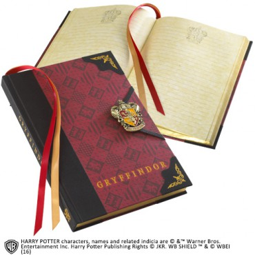 Harry Potter - Gryffondor JOURNAL - Notebook - Diario Segreto - Gryffondor Crest