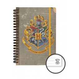 Harry Potter - HOGWARTS - Notebook - Hogwats Crest
