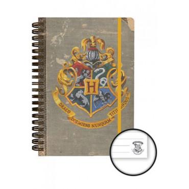 Harry Potter - HOGWARTS - Notebook - Hogwats Crest