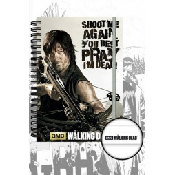 The Walking Dead - Tv Series - Notebook A5 - Daryl Dixon Crossbow