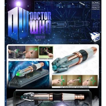 Doctor Who - 11th Doctor - Cacciavite Sonico - Die Cast Replica - TELECOMANDO UNIVERSALE