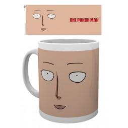One Punch Man - Tazza - Mug Cup - Saitama Face - 300 Ml