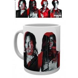 The Walking Dead - Tazza - Mug Cup - Cast - 300 Ml