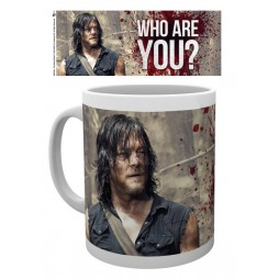 The Walking Dead - Tazza - Mug Cup - (Daryl Dixon) Who Are You? - 300 Ml