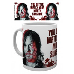 The Walking Dead - Tazza - Mug Cup - (Daryl Dixon) You Better Watch Your Mouth Sunshine - 300 Ml
