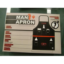 Man Apron - Grembiule Barbecue