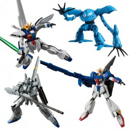 Mobile Suit Gundam - Gundam Shokugan Universal Unit 02 - Complete Box Set of 10 Mini Trading Action Figure