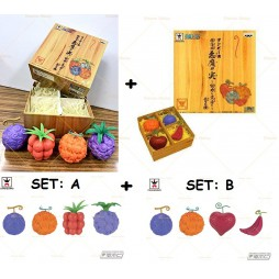 One Piece - Devil's Fruit Scaled Replica - Devil's Fruit Complete 2 Pack Gift Box Set A+ Set B