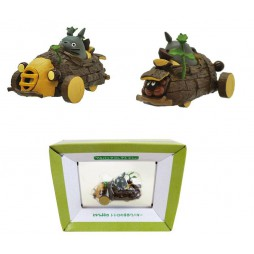 Il Mio Vicino Totoro - My Neighbour Totoro - Totoro Mini Pull-Back Wood Vehicle