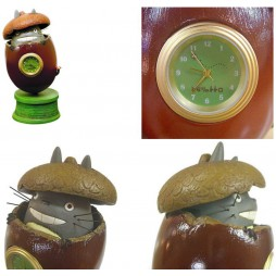 Il Mio Vicino Totoro - My Neighbour Totoro - Totoro Hazelnut Table Clock