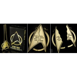 Star Trek - Collana 3D Metal - Necklace - Friendship Necklace