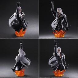Final Fantasy VII Advent Children - Play Arts Kai - Static Arts Bust No.03 - SEPHIROTH