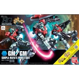 HG BUILD FIGHTERS 059 - Gunpla Mafia\'s Mobile Suit GM/GM - GM/GM 1/144
