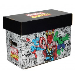 Marvel Comics - Marvel Characters Comic Collector\'s Box - Box per Fumetti 40x21x30 cm