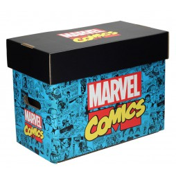 Marvel Comics - Marvel Logo Comic Collector\'s Box - Box per Fumetti 40x21x30 cm