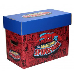 Marvel Comics - Spider-Man Comic Collector\'s Box - Box per Fumetti 40x21x30 cm