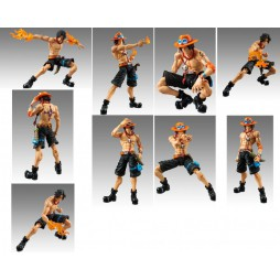 MegaHouse - Variable Action Heroes - One Piece - Portgas D Ace - Action Figure