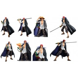 MegaHouse - Variable Action Heroes - One Piece - Shanks - Action Figure