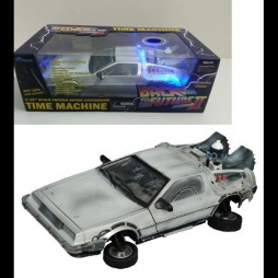 Back To The Future II - Ritorno Al Futuro Parte II - Macchina Del Tempo DeLorean Replica - Frozen Hover Time Machine Ver