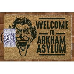 Dc Comics - Doormat - Zerbino - Batman Arkham Asylum - Joker - Pyramid