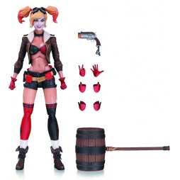 DC Designers Series - Ant Lucia - DC Bombshells Harley Quinn - Action Figure - DC Collectibles