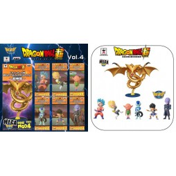 Dragon Ball - Dragon Ball Super - World Collectable Figure - VOL.4 SET - Complete Set Of 7 Figures