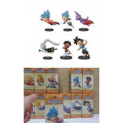 Dragon Ball - Dragon Ball Super - World Collectable Figure - Vol.5 - Historical Characters vol 2 - Complete Set Of 6 Fi