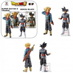 Dragon Ball Super - DXF The Super Warriors Vol.2 - Super Saiyan 2 Black Gokou + Trunks 2 Figure SET