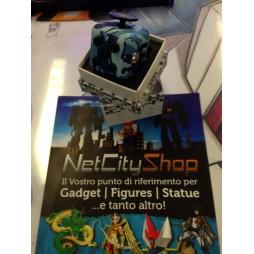 Fidget - The Switch - Fidget Cube Clicker - Camo Blue Navy/Nero