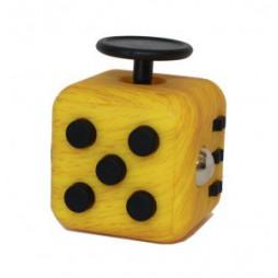 Fidget - The Switch - Fidget Cube Clicker - Giallo Striato/Nero
